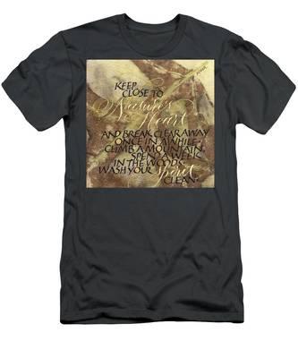 Nature's Heart Men's T-Shirt (Athletic Fit)
