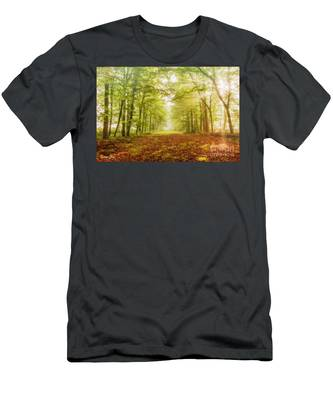 Neither Summer Nor Winter But Autumn Light Men's T-Shirt (Athletic Fit)