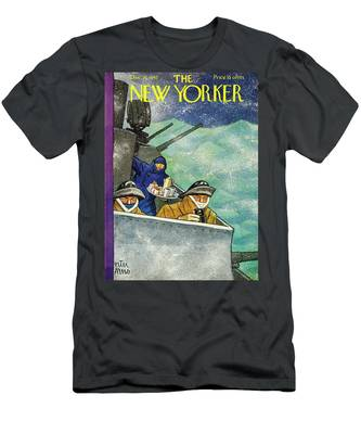 New Yorker December 26th 1942 Men's T-Shirt (Athletic Fit)