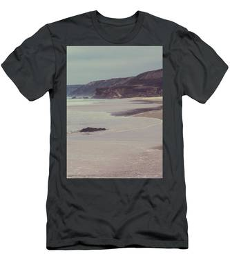 Men's T-Shirt (Athletic Fit) featuring the photograph Ocean Coast II by Anne Leven