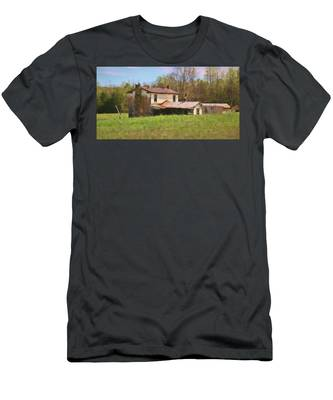 Men's T-Shirt (Athletic Fit) featuring the photograph Past Her Prime by Ola Allen