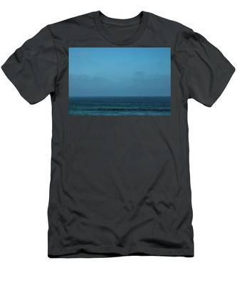 Men's T-Shirt (Athletic Fit) featuring the photograph Peaceful Ocean V by Anne Leven