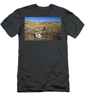 Men's T-Shirt (Athletic Fit) featuring the photograph Quietus by Carl Young