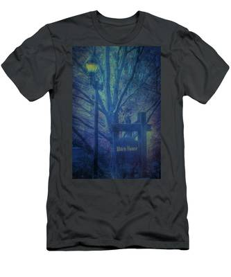Men's T-Shirt (Athletic Fit) featuring the photograph Salem Massachusetts  Witch House by Jeff Folger