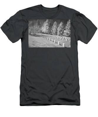 Somber Scene Men's T-Shirt (Athletic Fit)
