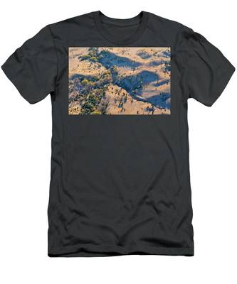 Men's T-Shirt (Athletic Fit) featuring the photograph Terra by Carl Young