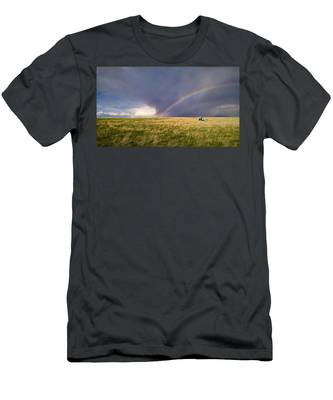 The Enchanted Tractor Men's T-Shirt (Athletic Fit) by Carl Young