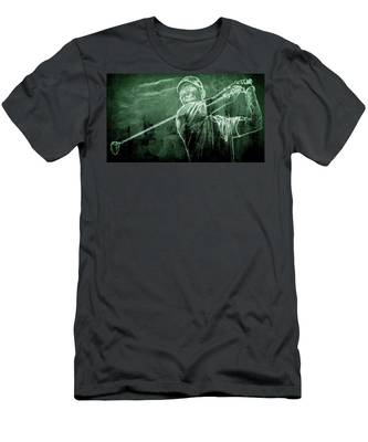 Tiger's On The Green Men's T-Shirt (Athletic Fit)