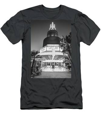 Tower In Silence- Men's T-Shirt (Athletic Fit)