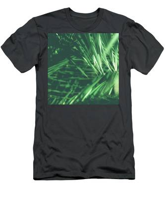 Men's T-Shirt (Athletic Fit) featuring the photograph Tropical IIi by Anne Leven