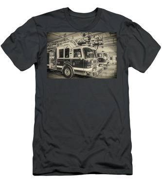 Truck And Engine 211 Men's T-Shirt (Athletic Fit)