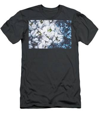 Men's T-Shirt (Athletic Fit) featuring the photograph Vintage Flowers II by Anne Leven