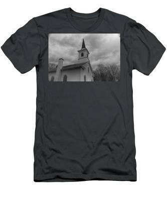 Waterloo United Methodist Church - Detail Men's T-Shirt (Athletic Fit)