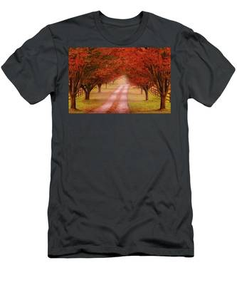 Way To The Farm Men's T-Shirt (Athletic Fit)
