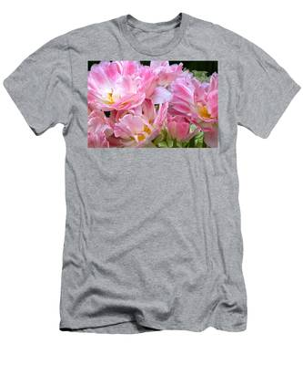 A Crowd Of Tulips Men's T-Shirt (Athletic Fit)