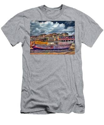 A Genesis Sunrise Over The Old City Men's T-Shirt (Athletic Fit)