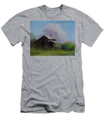 Abondoned Memories  Men's T-Shirt (Athletic Fit)