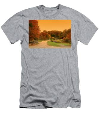 Autumn In The Park - Holmdel Park Men's T-Shirt (Athletic Fit)