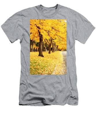 Autumn Perspective Men's T-Shirt (Athletic Fit)