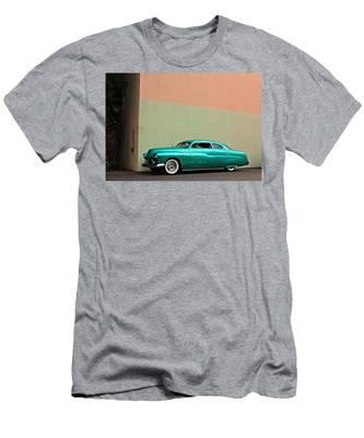 Big Green Merc Just Around The Corner Men's T-Shirt (Athletic Fit)