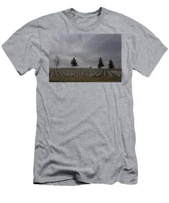 Black Hills Cemetery Men's T-Shirt (Athletic Fit)