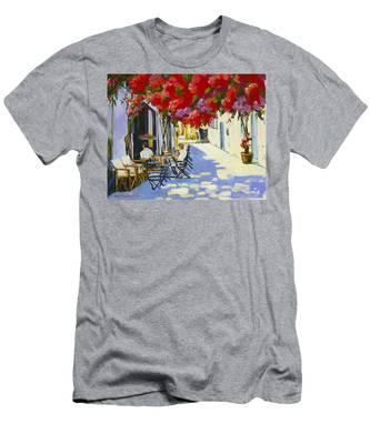 Cafe Men's T-Shirt (Athletic Fit)