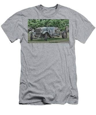 Chevy Truck By Ron Roberts Men's T-Shirt (Athletic Fit)