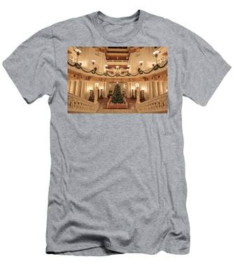 Christmas In The Rotunda Men's T-Shirt (Athletic Fit)