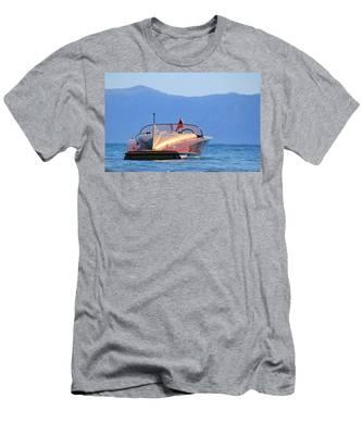 Cobra At Tahoe Men's T-Shirt (Athletic Fit)
