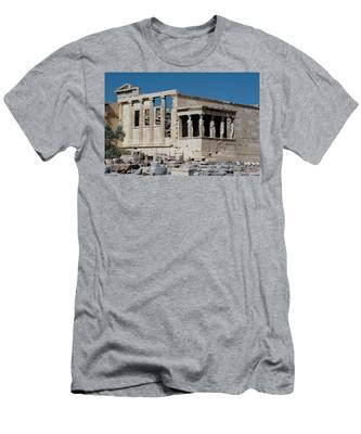 Erechtheion With The Porch Of Maidens Men's T-Shirt (Athletic Fit)