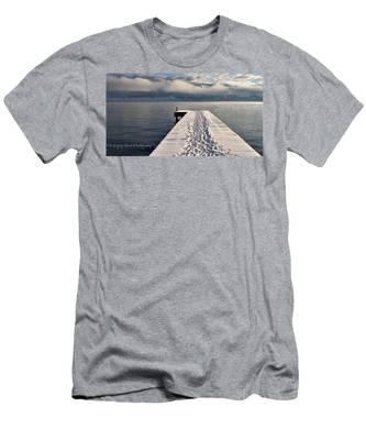 Flathead Lake Men's T-Shirt (Athletic Fit)