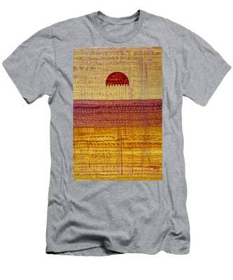 High Desert Horizon Original Painting Men's T-Shirt (Athletic Fit)