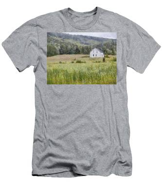 Idyllic Isolation Men's T-Shirt (Athletic Fit)