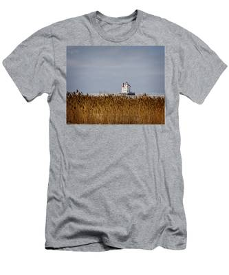 jewel of the Port Lorain Lighthouse Men's T-Shirt (Athletic Fit)