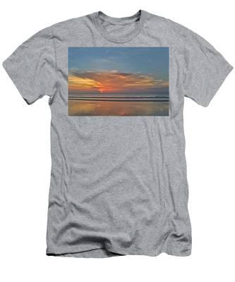 Jordan's First Sunrise Men's T-Shirt (Athletic Fit)