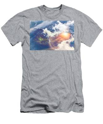 Journey To Another Dimension Men's T-Shirt (Athletic Fit)