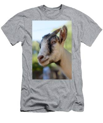 Men's T-Shirt (Athletic Fit) featuring the photograph Just Say Chiiiz by Michael Goyberg
