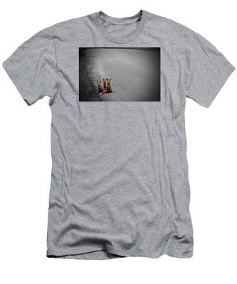 Life Is An Unknown Highway Men's T-Shirt (Athletic Fit)