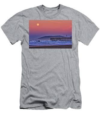 Moonset Men's T-Shirt (Athletic Fit)