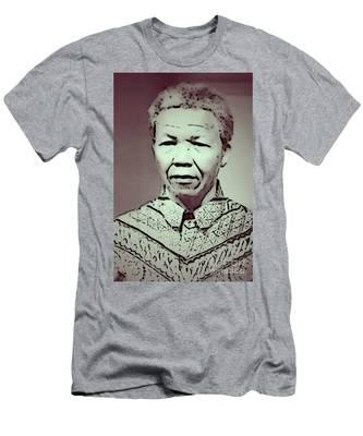 Mandela Men's T-Shirt (Athletic Fit)