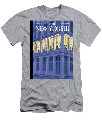 New Yorker April 13th, 2009 Men's T-Shirt (Athletic Fit)