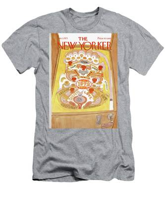 New Yorker January 1st, 1972 Men's T-Shirt (Athletic Fit)
