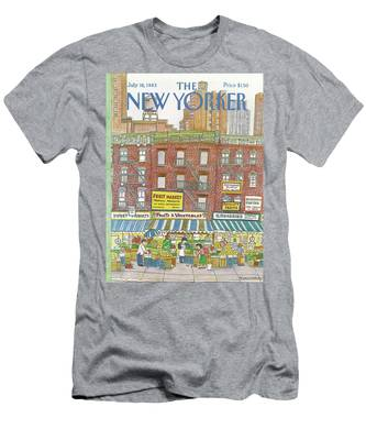 New Yorker July 18th, 1983 Men's T-Shirt (Athletic Fit)