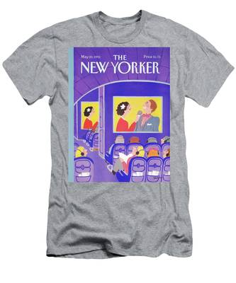 New Yorker May 20th, 1991 Men's T-Shirt (Athletic Fit)