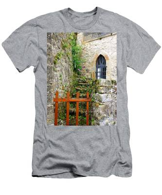 No Entry Men's T-Shirt (Athletic Fit)