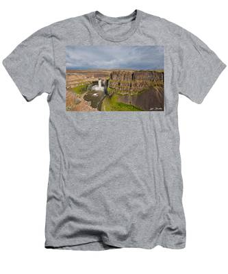 Palouse Falls Men's T-Shirt (Athletic Fit)