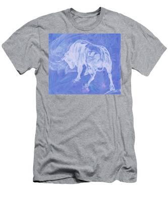 Purple Bull Negative Men's T-Shirt (Athletic Fit)