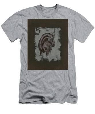 Show Horse Men's T-Shirt (Athletic Fit)