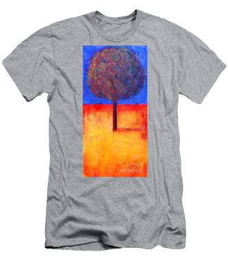 The Lonely Tree In Autumn Men's T-Shirt (Athletic Fit)