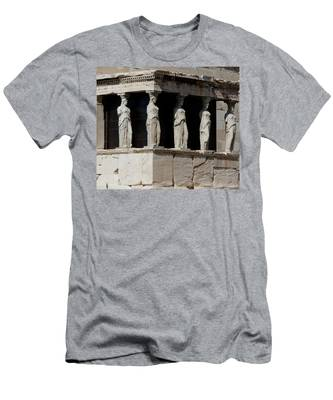 The Porch Of Maidens Men's T-Shirt (Athletic Fit)